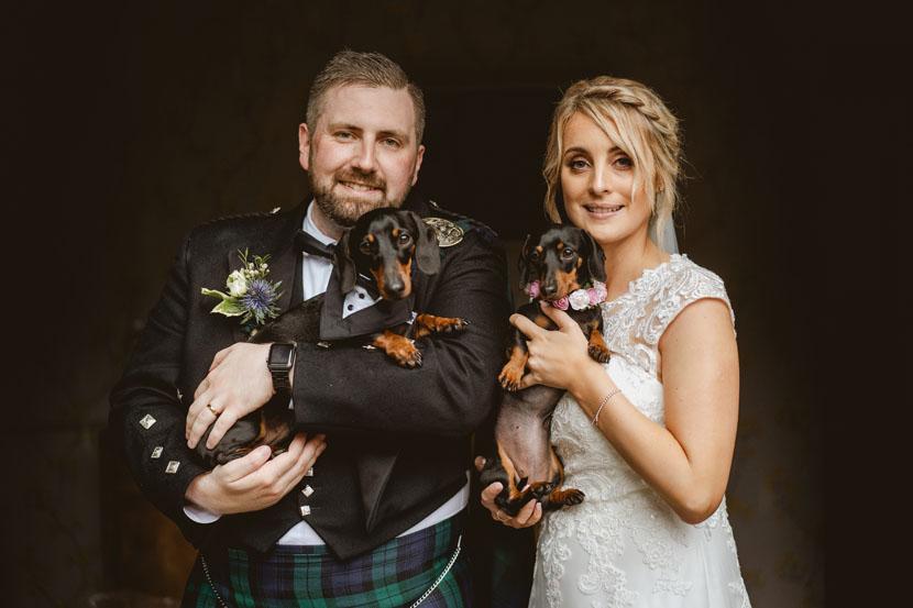 Lincolnshire wedding couple pose for photos